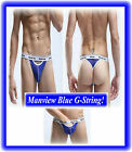 Men`s Sexy Manview Mesh G-String Underwear fits Med to Large Pos Gay Int ! HTF