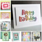 Crafts - Words Metal Cutting Dies Stencil Scrapbooking Album Decor Embossing DIY Crafts