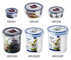 Lock & Lock Round Food Fruit Pickle Snack Nuts and Powder Container Storage