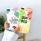 Cute Fruits Summer Pattern Soft Rubber TPU Case Cover For iPhone X 8 6s 7 Plus