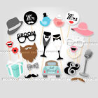 Photo Booth Props Frame Wedding Hen party Birthday Baby Shower Christmas Selfie