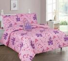 Pink Princess Palace Kids/Teens In a Bag COMFORTER Bed Castle Toy Sheet Set  image
