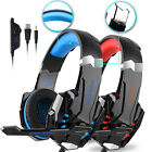 EACH G9000 Gaming Headset Headphone with Mic Noise Cancelling for PS4/Xbox One