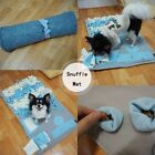 Nose Training Chew Dog Sniffing Pad Kennel Feeding Foraging Mat Pet Blanket