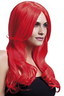 Fever Khloe Wig, Neon Red, Long Wave with Centre Parting, 66 (UK IMPORT)  AC NEW