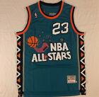 NWT Michael Jordan #23 1996 All Star Throwback Sewn Mens Jersey Brand New