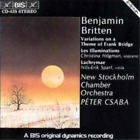 Variations On a Theme of Frank Bridge (Csaba, Nsco, Hogman)  (UK IMPORT)  CD NEW