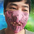 0C4DB4A Half Face Mask Scary Horrible Halloween Tricks Celebrations Fancy Dress