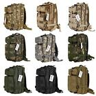 3P Tactical Military Backpack Camouflage Camping Hiking Rucksack 9 Colors H