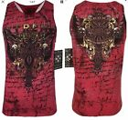 XTREME COUTURE by AFFLICTION Men T-Shirt SALVATION TANK CROSS Biker Gym M-3XL$33 image
