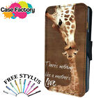 THERE IS NOTHING LIKE A MOTHERS LOVE - Leather Flip Wallet Phone Case Cover