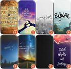 Travel Wallet Flexible Phone Case for iPhone | Travel Quote Holiday Backpacking