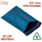 BLUE Metallic Mailing Postal Packaging Bags 19