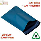 BLUE Metallic Mailing Postal Packaging Bags 23