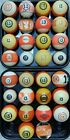 #13 Ball Pool Ball 1500 VINTAGE & ANTIQUE BILLIARD BALLS IN STOCK Clay & Aramith $17.5 USD on eBay