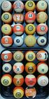 #13 Ball Pool Ball 1500 VINTAGE & ANTIQUE BILLIARD BALLS IN STOCK Clay & Aramith $25.0 USD on eBay