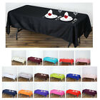 60x102 Polyester Rectangle Tablecloths