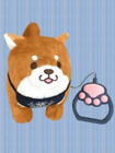 Japan Faithful Chuken Mochi Shiba Inu Dog Walking Together Toy Plush Doll Cute