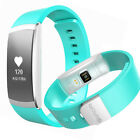 Fitness Tracker Heart Rate Pedometer Step Walk Calorie Counter Health Wristband