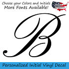 Custom Vinyl Lettering Initial Personalized Sticker Decal Na
