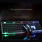 Universal Backlit USB Wired Gaming Mechanical Keyboard and Mouse for PC/Laptop