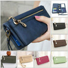 New Women Lady Leather Wallet Long Card Holder Phone Bag Case Purse Handbag US image