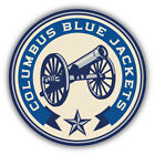 Columbus Blue Jackets NHL Retro Logo Car Bumper Sticker Decal - 3'' or 5'' $3.75 USD on eBay