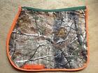 REAL TREE Camo Custom English Saddle Pad