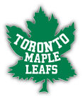 Toronto Maple Leafs NHL Hockey Green  Car Bumper Sticker - 3'', 5'' or 6'' $4.0 USD on eBay
