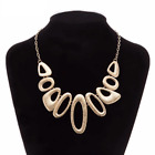Ladies Fashion Necklace Chunky Retro Jewellery Statement Costume Chain Style Uk