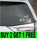 PEACE FROG WINDOW DECAL STICKER