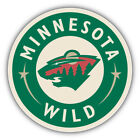 Minnesota Wild NHL Hockey Logo Car Bumper Sticker Decal - 9'', 12'' or 14'' $13.99 USD on eBay