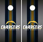 Los Angeles Chargers Cornhole Skin Wrap NFL Football Luxury Vinyl Decal DR43 $39.99 USD on eBay