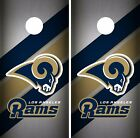 Los Angeles Rams Cornhole Skin Wrap NFL Football Vintage Art Decor Vinyl DR46 $39.99 USD on eBay