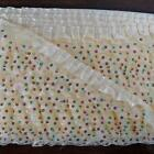 25 YARD Ruffle Lace Trim ForDress Craft Sewing Trimming - IVORY