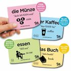 Language Learning Post It Notes Easy Learn Spanish French German Flash Sticks