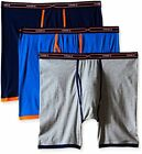 Hanes Red Label Underwear - Bottoms Mens 3-Pack X-Temp Active Cool Long