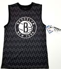 NBA Brooklyn New York Nets basketball team black pattern UNK Tank top