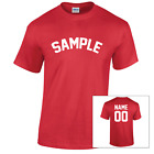 Country Of Myanmar Jersey Sports Letter Personalized Name Number Cotton T-Shirt