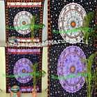 Indian Horoscope Zodiac Tapestry Astrology Handmade Beach Mat Tulle Voile Set