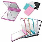 Beauty Compact Portable With 8 LED Lights Cosmetic Folding Make Up Mirror