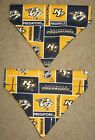 Nashville Predators Dog Bandana - 5 sizes XS - XL $4.49 USD on eBay