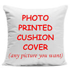 Personalised Cushion Cover Pillow Case Printed Photo Custom Made Print Cover Hot image