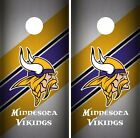 Minnesota Vikings Cornhole Skin Wrap NFL Football Team Colors Vinyl Decal DR52 on eBay