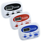 2 Digital Kitchen Electronic Timer Cooking Baking LCD Large Count Down w/Battery photo