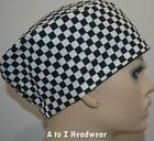 CHEF Checkered Cap Foodservice Deli Restaurant Cook Hat**CLEARANCE