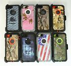 For Apple iPhone 7 / 7 Plus Camo Case [Belt Clip Holster Fits Otterbox Defender]