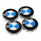 BMW Car Emblem Chrome Front Badge Logo 82 74 68 MM For BMW Hood/Trunk/ hub cap
