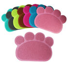 Claw Shape Square Pets Dog Cat Litter Mats Pad Dish Feed Bowl Tray Tidy Clean