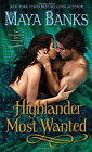Banks, Maya-Highlander Most Wanted  (UK IMPORT)  BOOK NEW